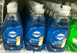 $0.74 Dawn Dish Liquid at Walgreens