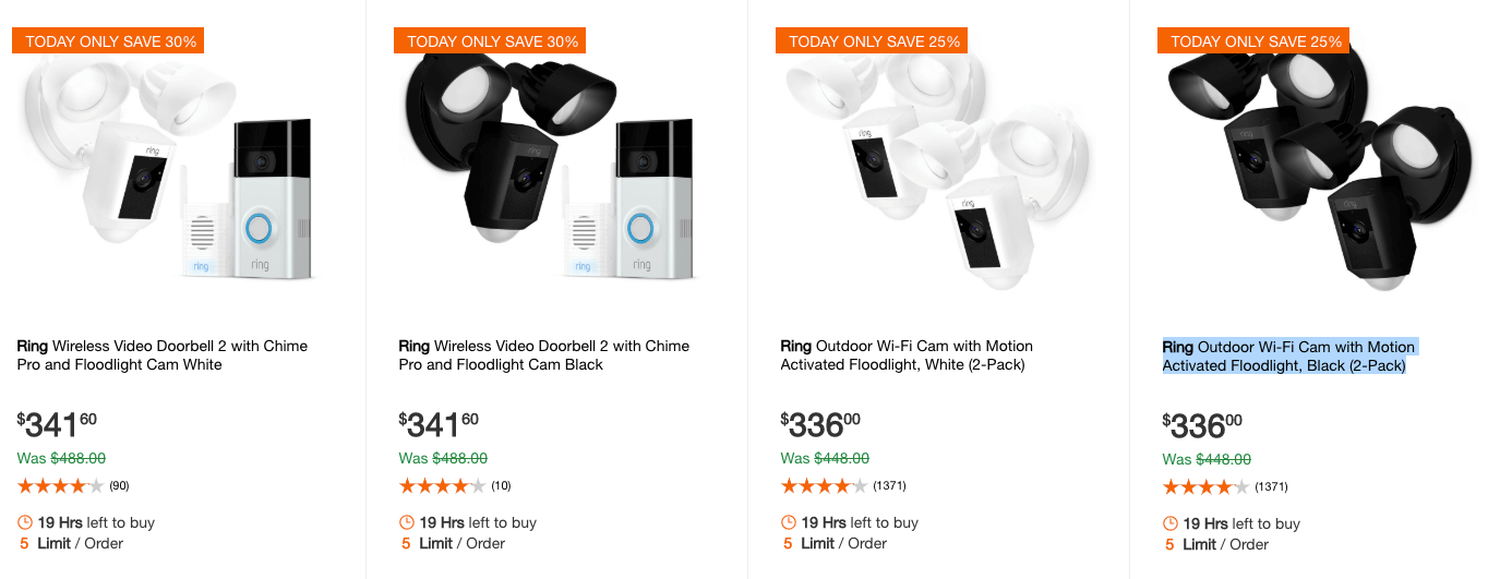 Ring Coupons January 2019