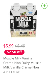 Muscle Milk Coupons January 2019