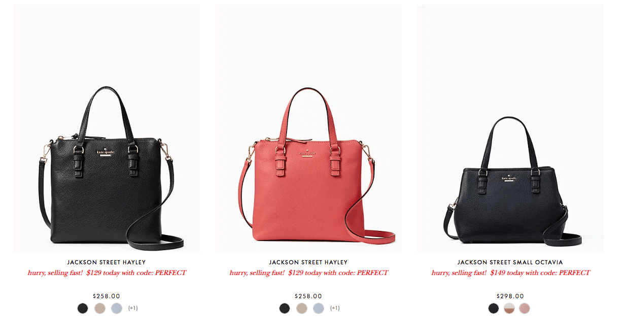 Kate Spade Coupons January 2019