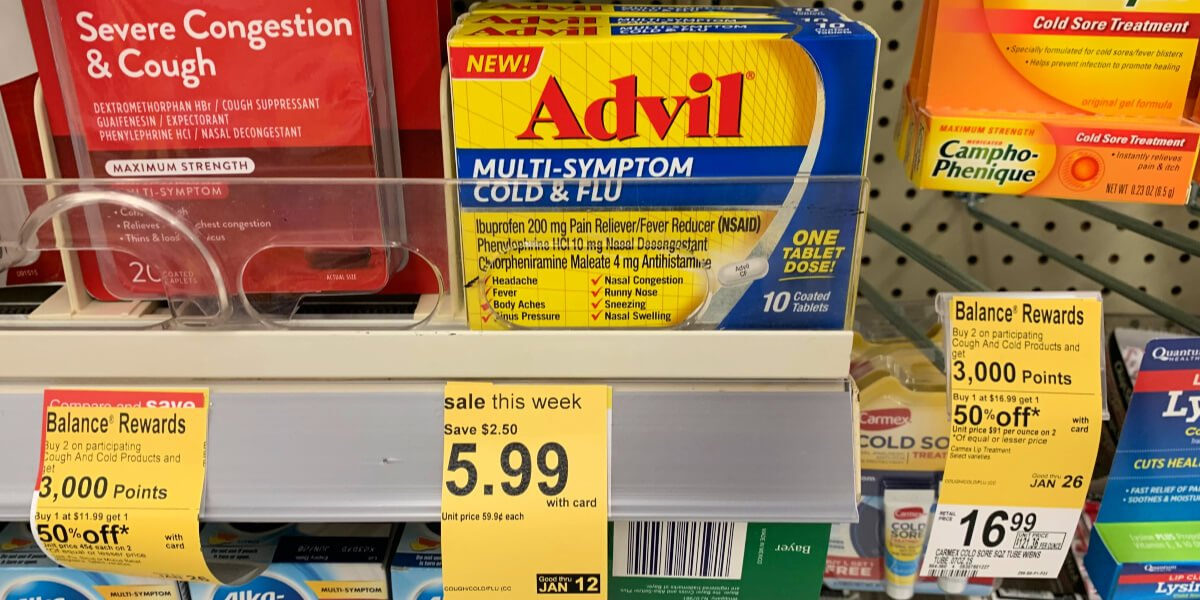 graphic about Advil Coupons Printable known as Showcased Coupon