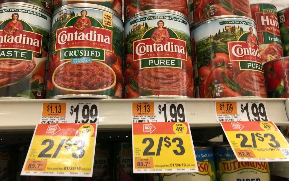Contadina Tomato Coupon January 2019