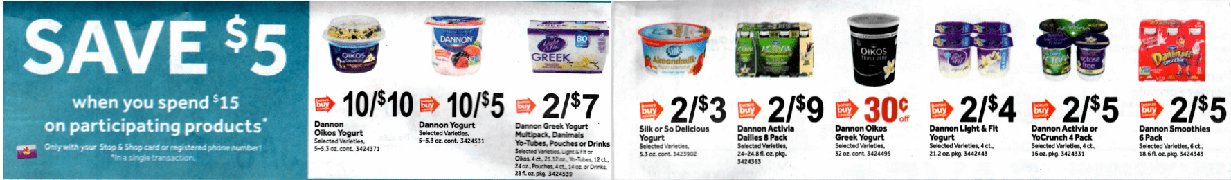 Dannon Coupons January 2019