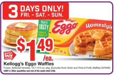 Eggo Waffles Coupons January 2019