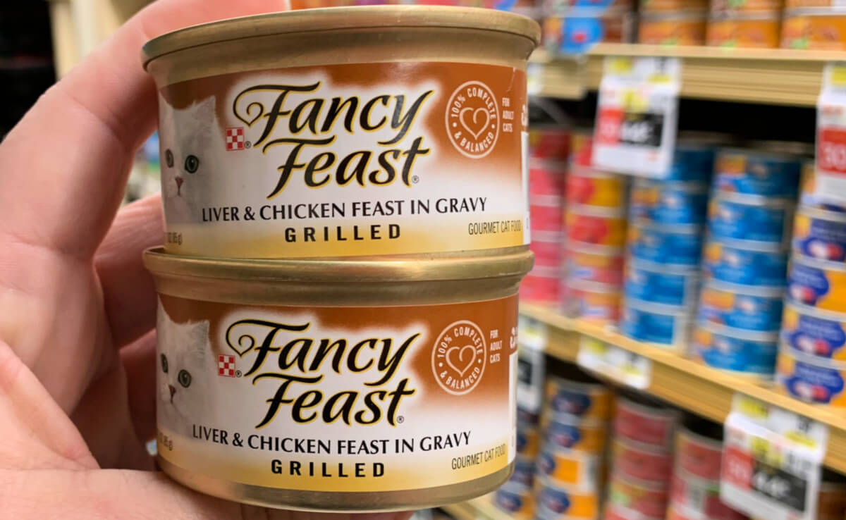 New 15030 Purina Fancy Feast Wet Cat Food Coupon 047 At