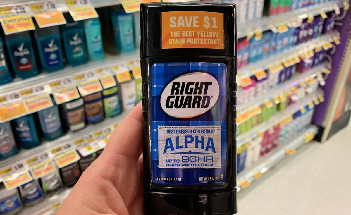 Right Guard Coupons January 2019