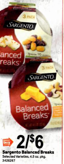 Sargento Coupons January 2019
