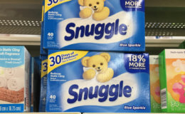 Snuggle Liquid Fabric Softener or Dryer Sheets - BOGO at Rite Aid!