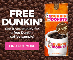 Dunkin Donuts Coupon January 2019