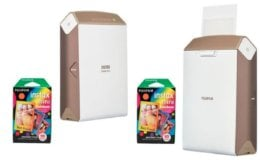 Fujifilm instax SHARE SP-2 Smartphone Printer Gold w/2x Instax Mini Rainbow Film Just $79.99