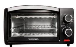 CHEFMAN 4-Slice Toaster Oven $19.99 (Reg. $38.99)