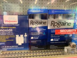 New $5/1 Women's or Men's ROGAINE Hair Regrowth Treatment Coupon & Deals