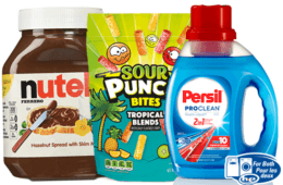 Today's Top New Coupons - Save on Nutella, Persil, Red Vines & More