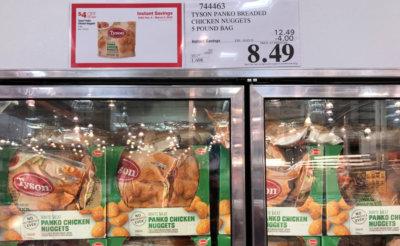 Costco: Tyson Panko Chicken Nuggets - $0.10 per oz!