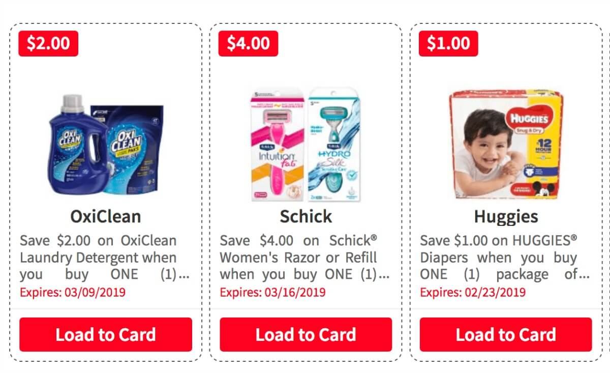 Over $175 in New ShopRite eCoupons - Save on OxiClean, Huggies