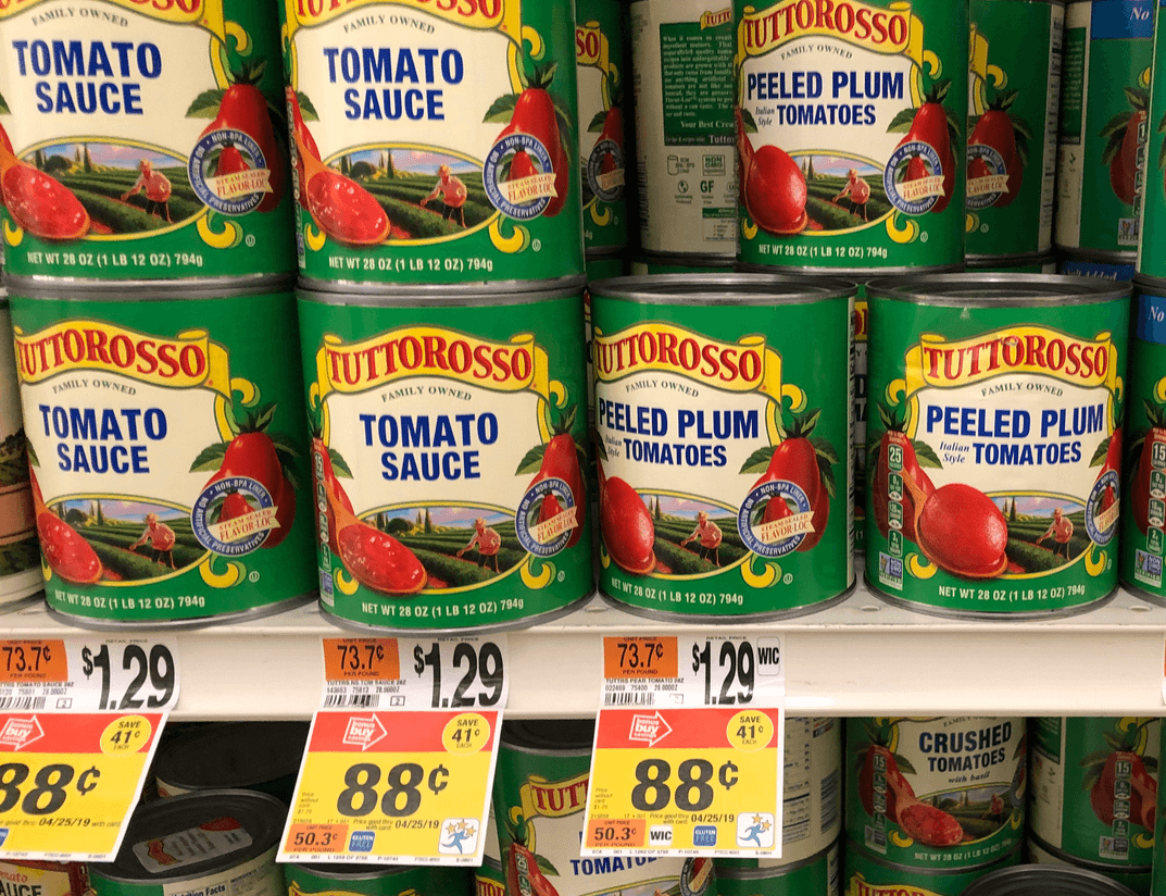 Tuttorosso Tomatoes Coupon February 2019