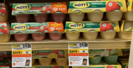Motts Applesauce 6pk  Cups Just $1.00 at ShopRite!