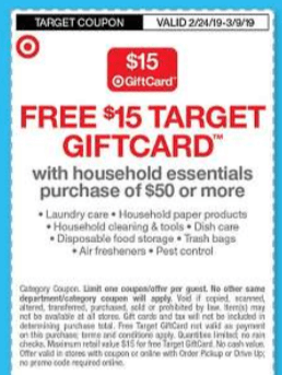 Target 15 50 Household Cleaning Gift Card Offer 0 94 Tide Pods Downy More Living Rich With Coupons