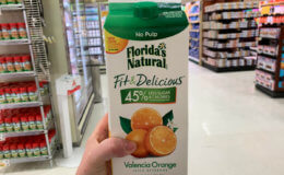 Starts Today! FREE Florida's Natural Fit & Delicious Orange Juice  at ShopRite!