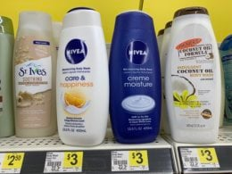 New $5/$25 Dollar General Coupon - Nivea Body Wash Creme Just $0.29 + More! (2/23 Only!)