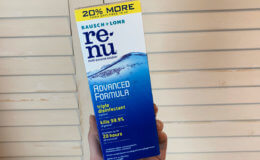 FREE Re-Nu Contact Lens Solution at CVS!