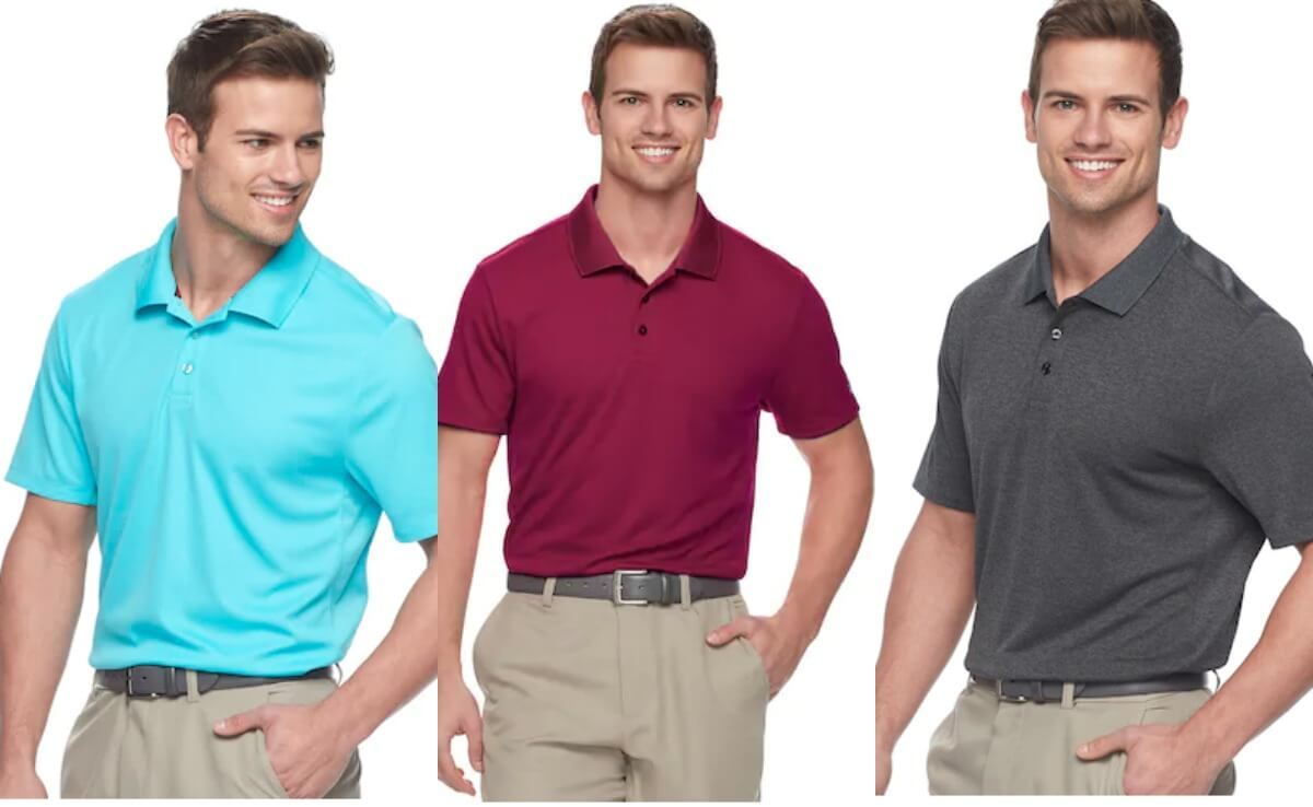 6ca8dd47507b Men s Fila Sport Golf Pro Core Performance Polos – 6 for  30.80 + Free  Shipping  Kohl s Cardholders