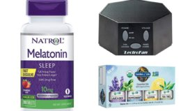Save up to 53% Sleep Aid Products {White Noise Machine, Melatonin & More}
