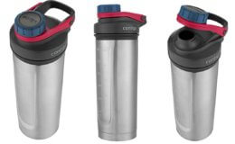 70% Off Contigo Vacuum-Insulated Shake & Go Fit Stainless Steel Shaker Bottle