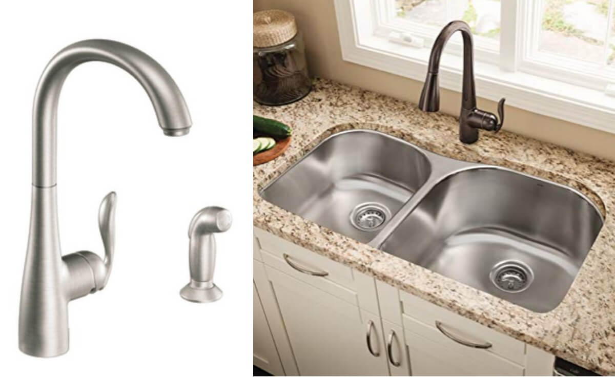 Save Up To 60 Select Moen Kitchen Faucets At Amazonliving Rich With