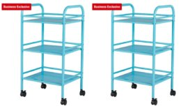 Staples 3 Shelf Rolling Cart $8.64 (Reg. $31.99) Free Store Pick Up