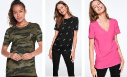 Basic PINK Tees Just $7.95 (Reg. $26.95)