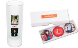 Pick 4! Set of Address Labels,  Shot Glass, Notepad and/or Set of Glass Magnets at Shutterfly {Just Pay Shipping}