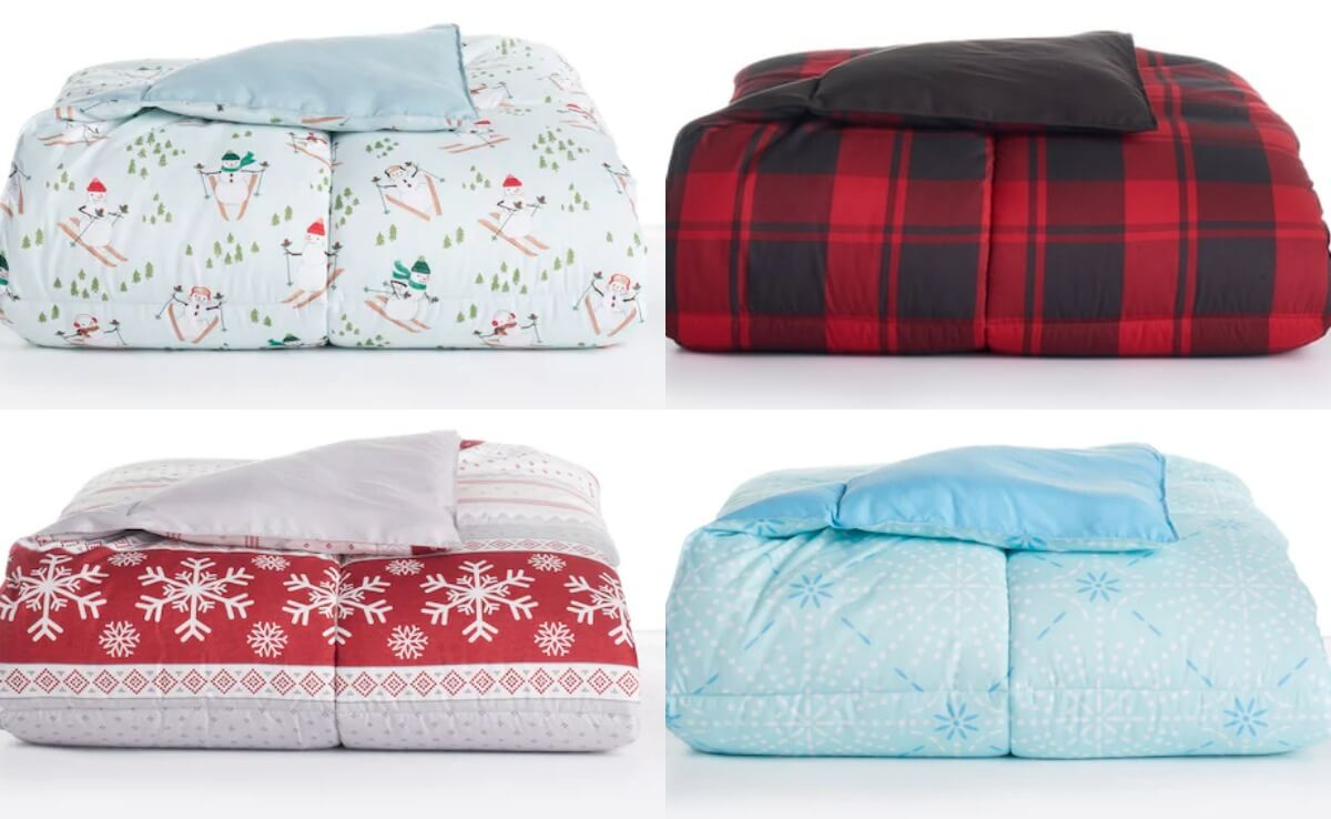 The Big One Down Alternative Reversible Comforter Twin 11