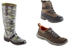 Up to 60% Off + Extra 25% Off L.L. Bean Boots, Shoes, & More
