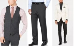 Macy's: 70- 85% Off Select Men's Designer Suits, Jackets, Pants, & More