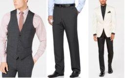 Macy's: 70- 85% Off Select Men's Designer Suits, Jackets, Pants, & More