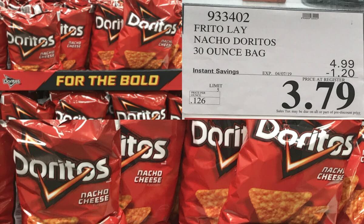 Costco: Hot Deal on Doritos Nacho Cheese Tortilla