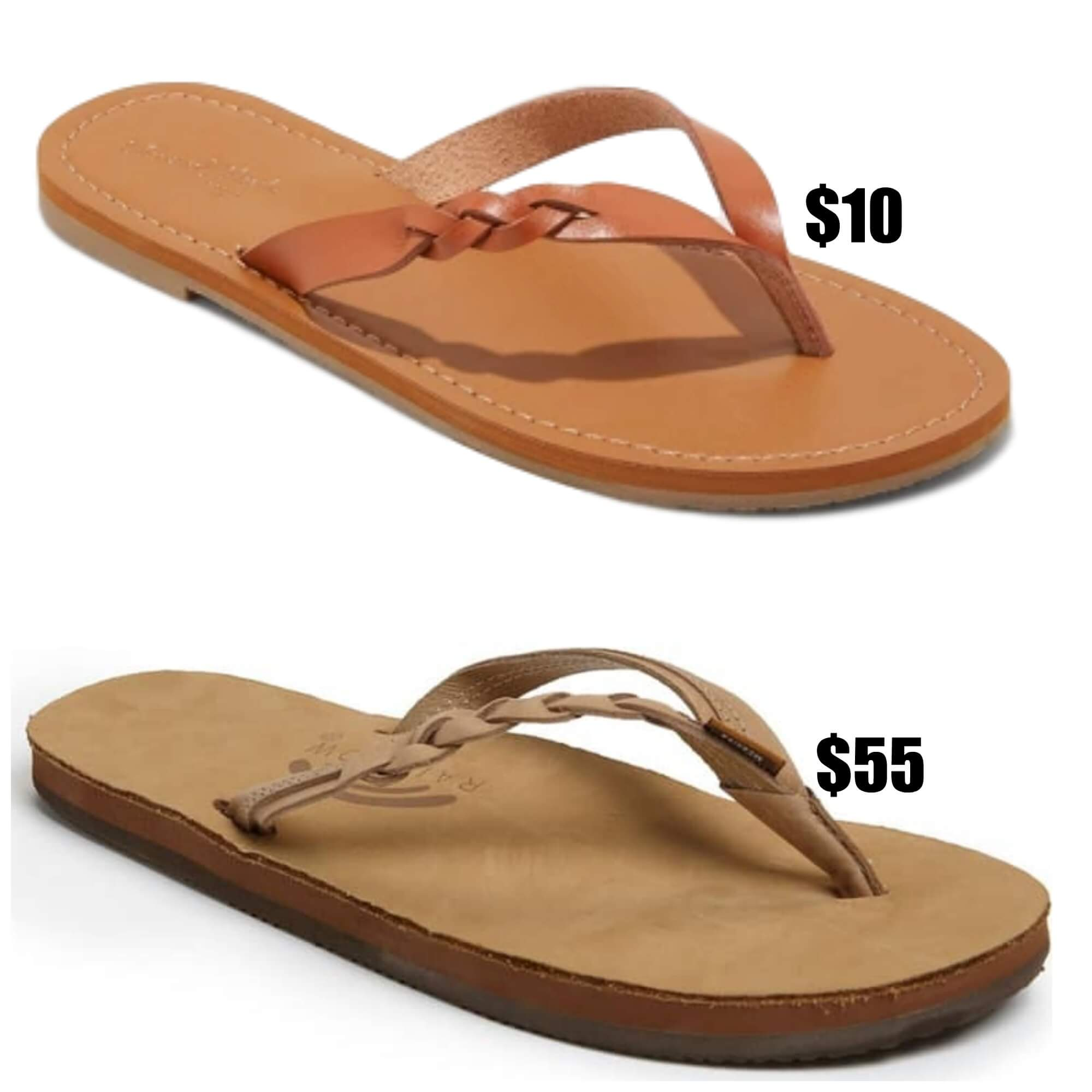 6b47c5e52bf5 Rainbow Sandals are super popular but  50! I found a Target Dupe for only   10!