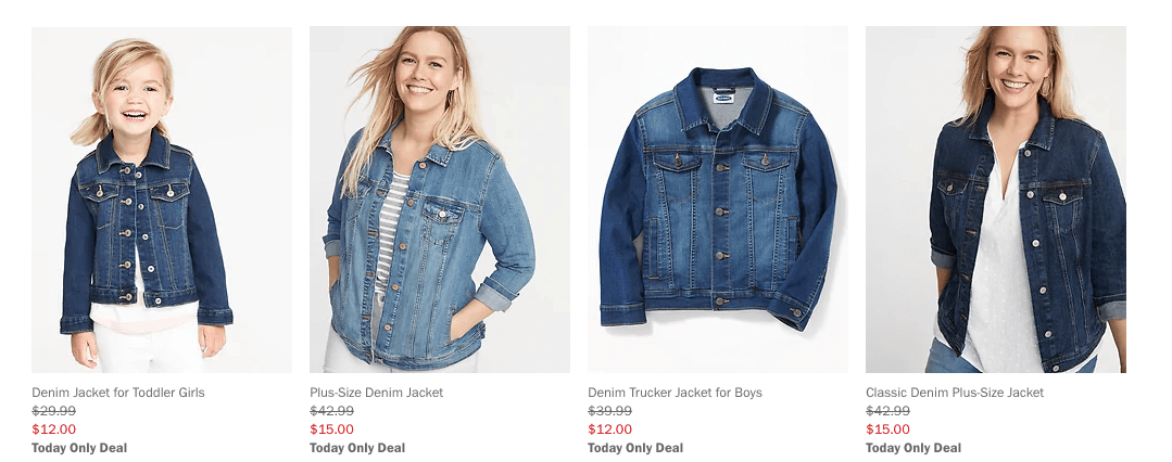 69e9f0717 Today Only at Old Navy: Kid's Jean Jackets $12, Women's $15 |Living ...