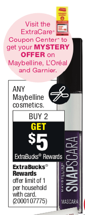 d5165c4930c Included in this offer is Maybelline Snapscara mascara, priced at $7.79 and Expertwear  eye shadow singles, priced at $3.59 depending on the region you live ...
