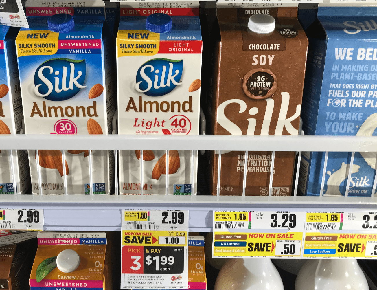 Silk milk coupons 2019