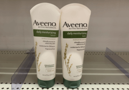 Aveeno Daily Moisturizing Lotion Just $0.49 at Target! {Ibotta Rebate}