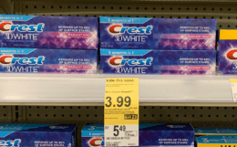 $0.66 Crest Toothpaste at Walgreens!