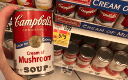 Campbell's Cream of Chicken or Mushroom Soups only $0.50 at Stop & Shop {3/22 No Coupons Needed}