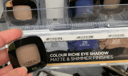 LOreal Colour Riche Monos Eye Shadow Only $0.29 at CVS!