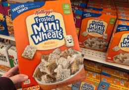 Kellogg's Raisin Bran or Frosted Mini Wheats as low as $0.49 at Stop & Shop {Rebate}