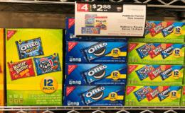 Nabisco Family Size Snacks & Multi-packs, 12ct Just $1.88 at ShopRite! {Rebate}