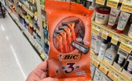 Up to a $3.98 Money Maker + 4  BIC 3  Sensitive Skin Razors at ShopRite!{4/28}