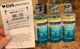 Up to 3 FREE Listerine Mouthwashes + Money Maker at CVS!