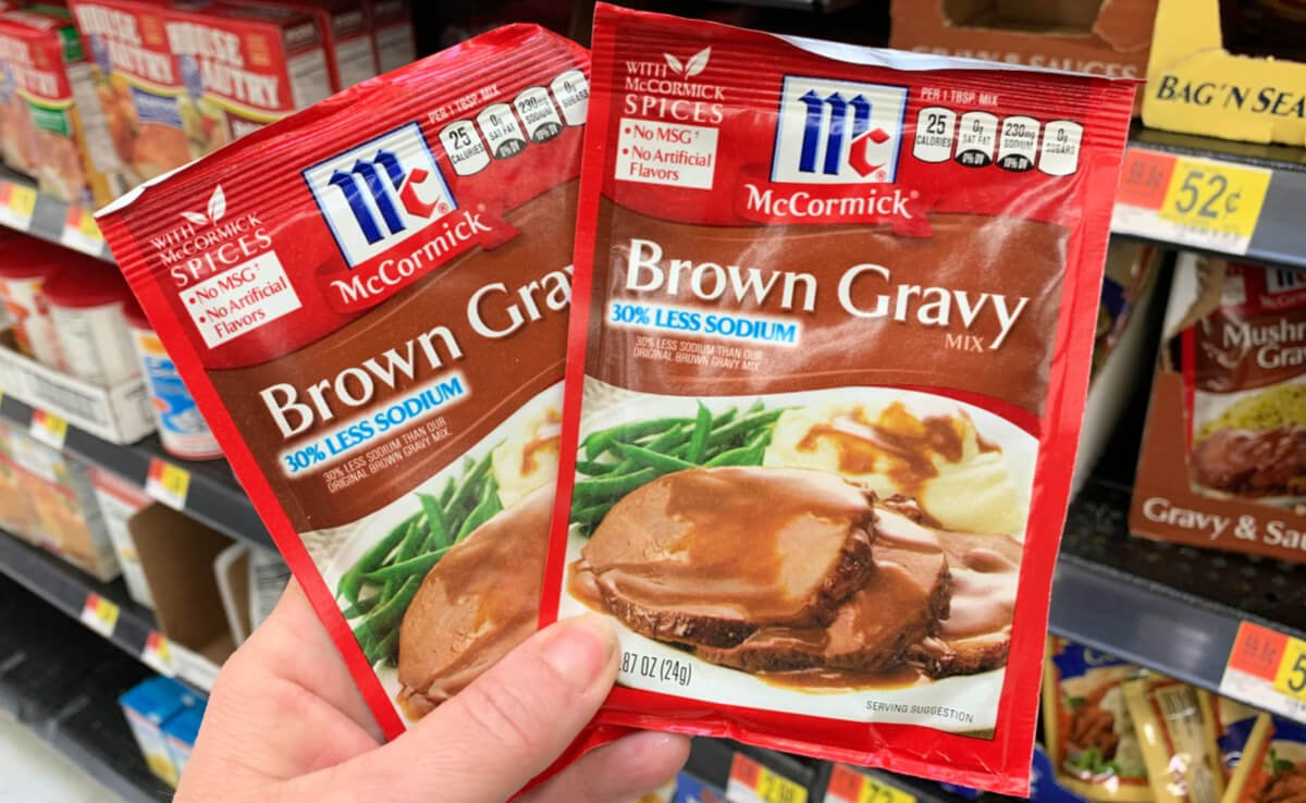 Rare! $3 25 in New McCormick Spice & Gravy Mix Coupons